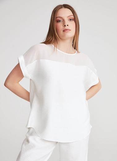 Gusto Bluz Beyaz